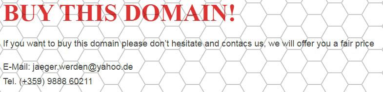 Buy that Domain!